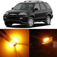Alla Lighting Front Signal Light 3457K Amber LED Bulbs for 1991~06 Acura MDX NSX