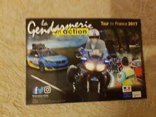 Tour de France 2017 Police en Action/gendarmerie en action CARTE POSTALE: CYCLISME