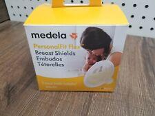 Medela PersonalFit Flex Breast Shields, 2 Pack, Medium 24mm Pump Flanges - Nib