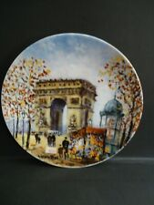 Darceau-Limoges Limited Edition Collector's Plates by Louis Dali 1981 (Four)