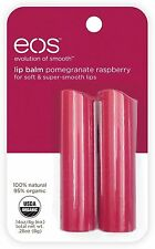 EOS Lip Balm Stick, Pomegranate Raspberry 2 ea