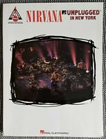 Nirvana MTV Unplugged in New York Notenbuch Noten Rock Music - Hal Leonard - NEU