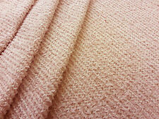 FLUFFY MESH PINK TEX EX 1338 DRESSMAKING STRETCH FABRIC COSTUME FANCY DRESS