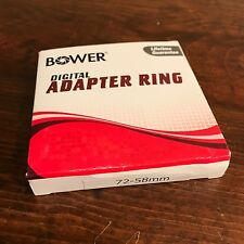 Bower Adapter Rings 62-52mm 67-52mm 72-58mm 77-67mm