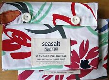 SEASALT Standard Pillowcase Pair ST IVES PAINTERLY New