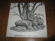 """LUGUBRUM """"Winterstones"""" LP  urfaust forgotten woods"""