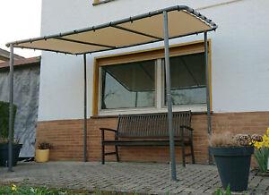 Balkonüberdachung  Pergola Markise Terrassendach SOLARO 3,15m x 1,9m
