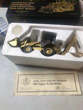 CASE 580 Super K Construction King Backhoe 1:35 Gold #4842