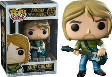 """NIRVANA Kurt Cobain 3.75"""" POP Rocks Figura in Vinile Funko Nuovo di Zecca 65"""