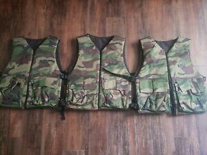 4 Gen X Global reversible vests w/ 2 unopened BT M8 Paint Grenades
