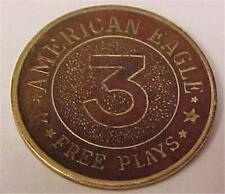 American Eagle Game-Free Play Token      -9667C