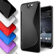 Handy Hülle HTC One A9s Schutz Case Silikon Cover Tasche Schutzhülle Bumper