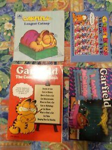 4x GARFIELD Cat COMICS BOOKS Magic Eye MIXED LOT