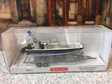 WIKING HO 1 87 009546 THW Multi Purpose Boat MZB 72 Lehmar