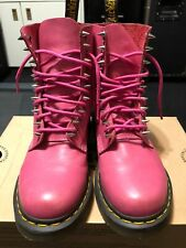 Dr Martens 1460 Pascal Pink Boots Metal Studs Customized Size 7