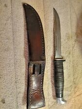 Case Model 16-5 SS Fixed Blade Knife with Case XX Sheath