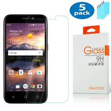 5-Pack Nacodex For Zte Overture 3 (Z851M) Tempered Glass Screen Protector