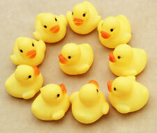 One Dozen (12) Rubber Duck Ducky Duckie Baby Shower Birthday Favors Toy Gift YE