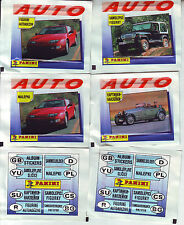 AUTO Panini 8 different sealed packs tuten bustina packet