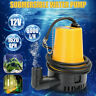 12V Submersible Water Pump 1620GPH 6000L/H Clean D-irty Pool Pond F-lood