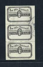 UNITED STATES _ 'POST OFFICE OFFICALLY SEALED' 3 _ used ____(636)
