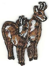 Two Savannah Safari Impalas Embroidery Patch