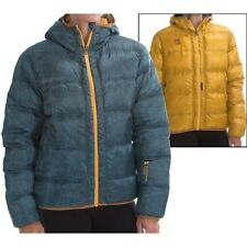MOUNTAIN FORCE CLOUD 800-FILL DOWN REVERSIBLE JACKET NWT WOMENS 38   $549