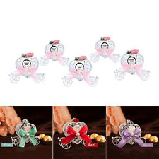 5X Cinderella Carriage Candy Chocolate Boxes Birthday Party Wedding Favour decor