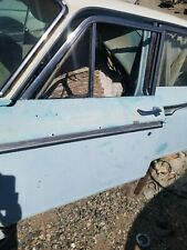 1962 1963 1964 1965 Ford Fairlane 4 Dr Sedan Left Front Door Window 62 63 Meteor