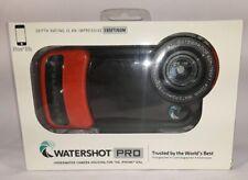 New! Watershot Pro Underwater Phone Camera Housing for Apple iPhone 6&6+ w/ Floa