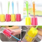 2pcs Mug Glass Kitchen Cup Cleaner Bottle Washing Tools Sponge Brush