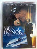 DVD MEN OF HONOR L'ONORE DEGLI UOMINI 2001 Drammatico R. De Niro C. Gooding DVD