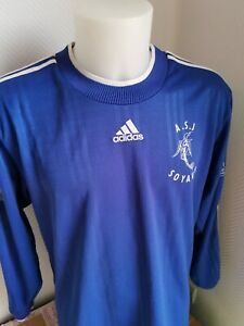 rare maillot de football asj Soyaux vintage 2001 n°9