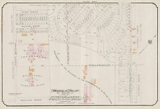 1913, GOAD, MONTREAL, CANADA, HOSPITAL FOR INCURABLES, COPY PLAT ATLAS MAP