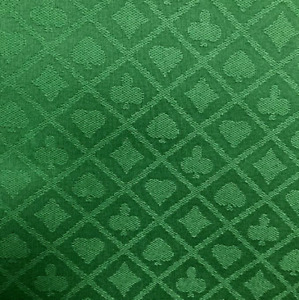 Poker Table Cloth Suited Green Speed Cloth For Professional Tables 150cm x 100cm