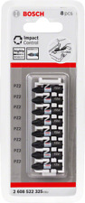 Bosch Impact Control Screwdriver Bit 8 x PZ 2 NEW RANGE !!!! Highly Robust