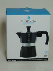 NIB Grosche espresso coffee maker 150 ml/ 5 Fl Oz. 3 cup