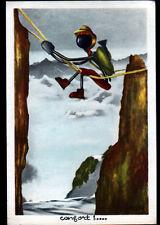 SAINT-GERVAIS-les-BAINS (74) ALPINISTE illustré TERRY / TUMEX en 1956