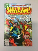 Shazam 34 Captain Marvel Vs. Captain Nazi Dc Comics 1978 Bronze Age