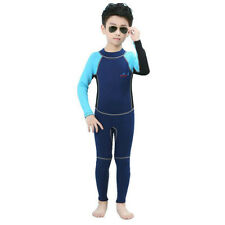 New listing Children Kids Toddler Long Sleeve Surfing Swimming Diving Wetsuit Jumpsuit for