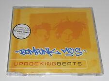BOMFUNK MC'S - UPROCKING BEATS - 2000 UK 3 TRACK CD SINGLE