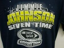 Jimmie Johnson 7 Time Nascar Champion T-Shirt From CFS - Men's Large Free Ship