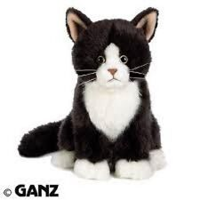 WEBKINZ Small Signature Tuxedo Cat WKSS2013 NEW with attached code FREE Ship!!!