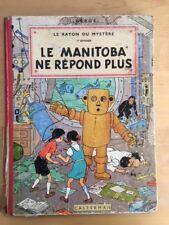 LE MANITOBA NE REPOND PLUS - JO, SUUS en JOKKO (1954)