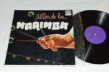 MARIMBA CHIAPAS Al Son De La Marimba LP Musart Records Mexico D-171 VG/G+