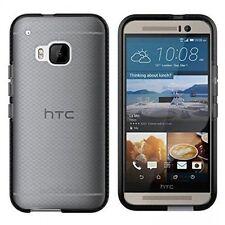 Tech 21 HTC M9 Evo controllo ONE Scudo Impatto Guscio In Gomma Gel Custodia Cover Nero
