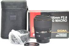 Sigma EX 105 mm f/2.8 AF DG Macro Objectif pour Nikon Top