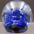 1973 Robert Barber Art Glass Paperweight Signed