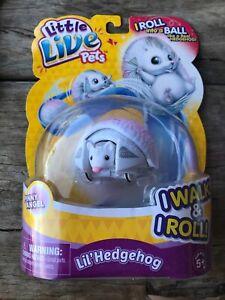 NEW MOOSE LITTLE LIVE PETS LIL' HEDGEHOG - PINNY ANGEL 28342