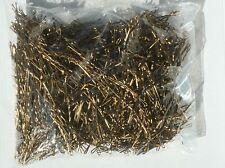 1kg (ca.1320St.) Haarklemmen gewellt mattgold 5 cm 50 mm Haarklammer Haarnadeln